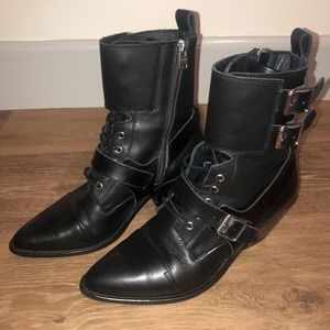 ALLSAINTS new leather boots